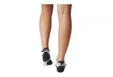 Paire de Chaussettes adidas running RUN ENERGY Blanc Noir