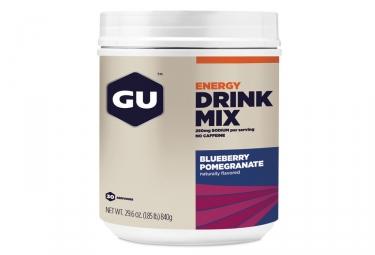 Boisson Energétique GU Drink Mix Myrtille 840g