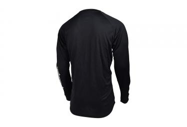 maillot manches longues troy lee designs moto noir 2017 s