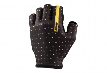 paire de gants courts mavic 2017 sequence marron noir xs