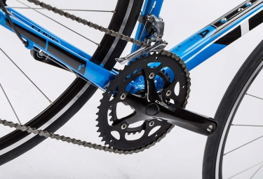 Vélo de Route Cube Attain Shimano Claris 8V 2016 Bleu