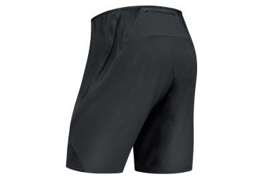Short 2-en-1 Gore Running Wear AIR Noir