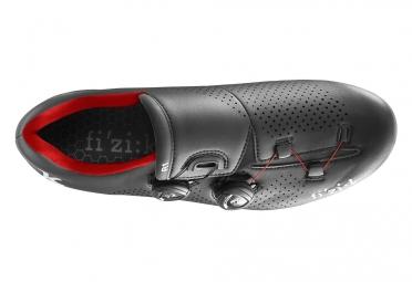 chaussures route fizik r1 uomo boa noir rouge 44