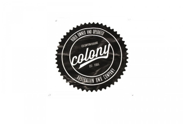 Colony Logo Banner Black