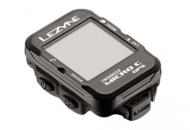 Compteur GPS Lezyne Micro Color Noir
