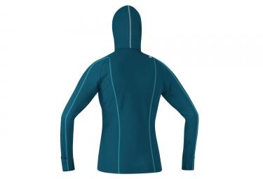 Sweat à Capuche Femme Gore Running Wear Essential Bleu