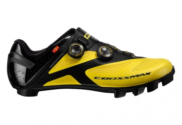 Pair of Shoes 2016 Mavic Crossmax Sl Ultimate Yellow / Black