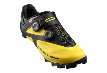 Chaussures VTT Mavic Crossmax SL Ultimate Jaune/Noir