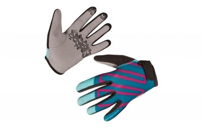 gants longs enfant endura hummvee ii bleu kid s