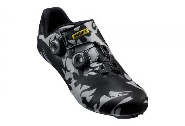 paire de chaussures mavic 2017 cosmic ltd iii pro edition limitee classiques noir gris 40 2 3