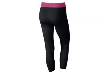Collant 3/4 Femme Nike Pro Cool Noir Rose