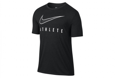 Maillot Manches Courtes Nike Dry Athlete Noir