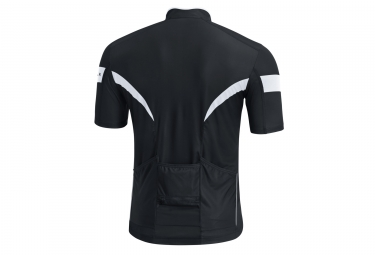 Maillot Manches Courtes Gore Bike Wear Power 3.0 Noir Blanc