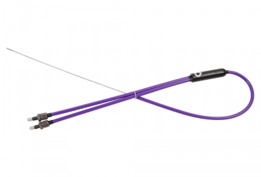Cable rotor bas vocal bmx retro violet