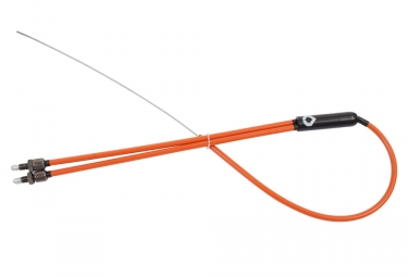 Cable rotor bas vocal bmx retro orange