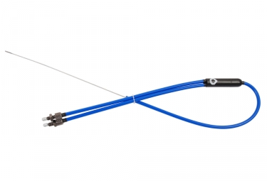 cable rotor bas vocal bmx retro bleu
