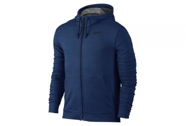 Sweat à Capuche Nike Dry Training Bleu