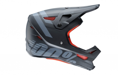 100% Status Meteor Youth Full Face Helmet Black