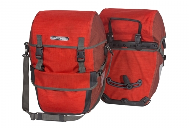 Ortlieb paire de sacoches bike packer plus rouge