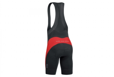 cuissard court gore bike wear power short noir rouge xxl
