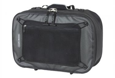 valise de porte bagages ortlieb travel biker noir gris
