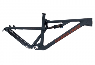 cadre tout suspendu santa cruz tallboy 3 cc carbone 29 27 5 boost fox float factory noir orange l 176 186 cm