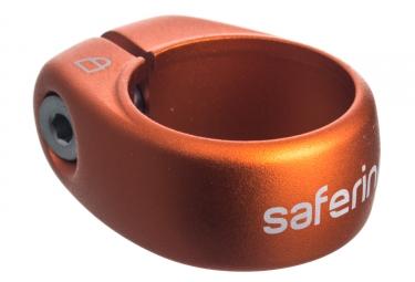 collier antivol de selle ixow safering gravity orange 34 9