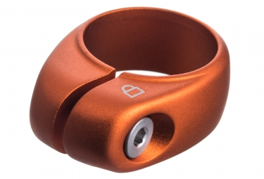collier antivol de selle ixow safering gravity orange 34 9