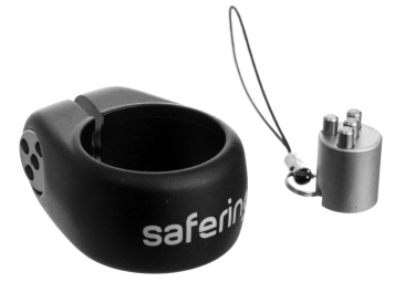 Collier antivol de selle ixow safering keycode noir 28 6