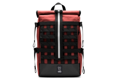 Chrome Barrage Cargo Rolltop backpack Red Black