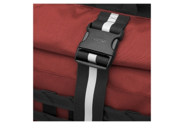 sac a dos rolltop chrome barrage cargo rouge noir