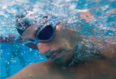 Zoggs Predator Flex Mirror Swimming Googles Blue