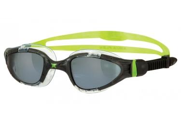 lunettes de natation zoggs aqua flex titanium vert noir