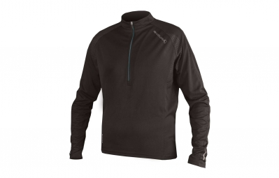 Endura maillot manches longues xtract noir m