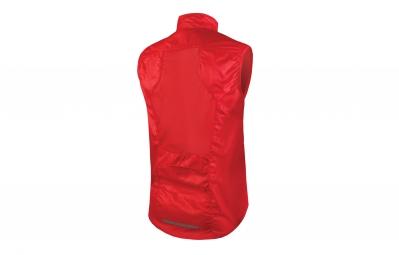 endura gilet compact sans manches pakagilet rouge m