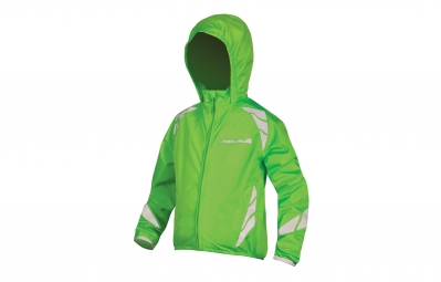 Endura Kids Luminite Jacket II Hi-Viz Green