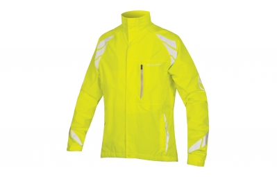 Endura veste coupe vent luminite dl jaune fluo l