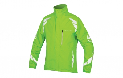 Endura veste coupe vent luminite dl vert m