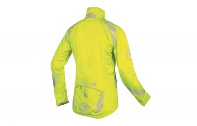 endura veste coupe vent luminite ii jaune fluo femme s