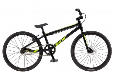 Bmx race gt mach one junior noir jaune 2018