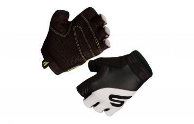 endura paire de gants courts equipe noir blanc s