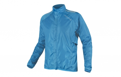 endura veste coupe vent pakajak bleu s