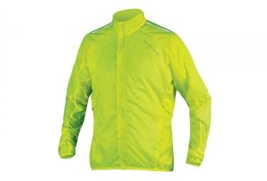 endura veste coupe vent pakajak jaune fluo m