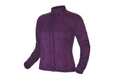 endura veste coupe vent pakajak femme violet xs