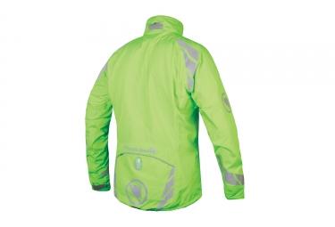 endura veste impermeable 4 en 1 luminite vert m