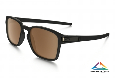 gafas oakley latch sq black brown prizm daily oo9353 1252