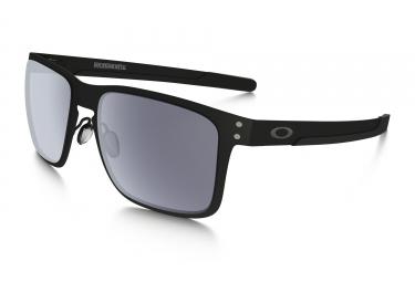oakley lunettes holbrook metal noir mat gris ref oo4123 0155