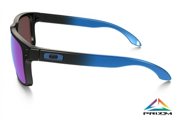 oakley lunettes holbrook noir bleu prizm sapphire polarized ref oo9102 d255