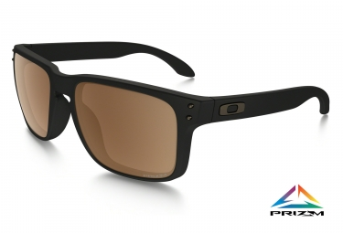 oakley lunettes holbrook noir mat prizm tungsten polarized ref oo9102 d755