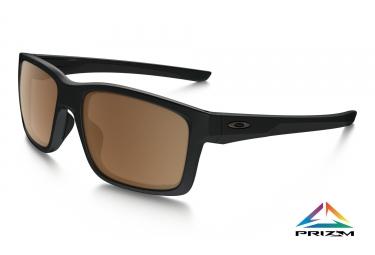 Oakley lunettes mainlink noir mat prizm tungsten polarized ref oo9264 2957